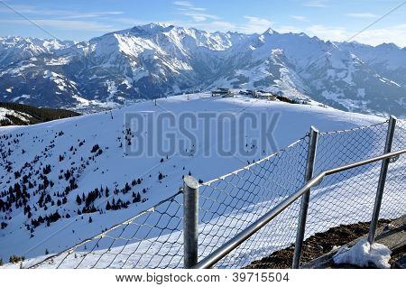 Ski Slopes In Tirol