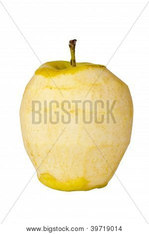 Decaying Golden Delicious Apple
