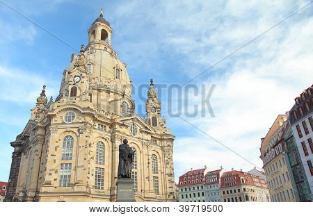 Church of Our Lady in Dresden, Germany.