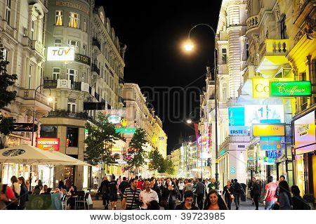 Viena à noite