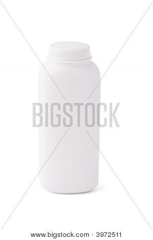 Blank Talcum Powder Container