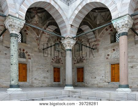 Pillars at Beyazit Mosque