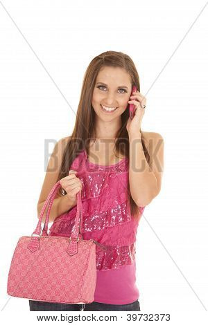 Holding Bag Phone
