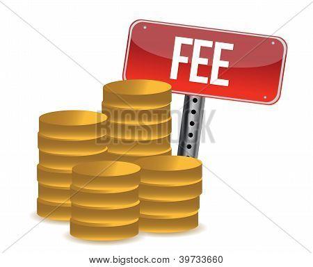 Monetary Fee Concept