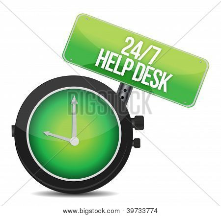 Help Desk 24 - 7