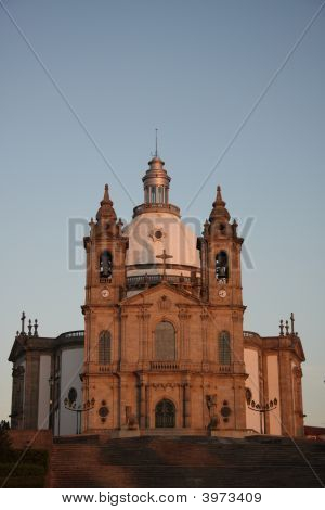 Sanctuary Of Sameiro, Braga, Portugal
