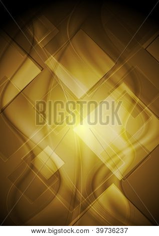 Wavy tech abstract background. Vector design eps 10