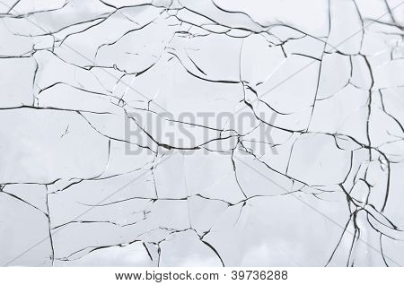 Abstract - Cracked Glass