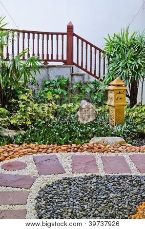 Stone Walkway Decorative