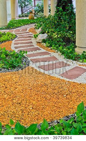 Stone Walkway Decorative