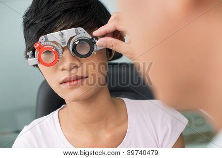 Visiting Optician