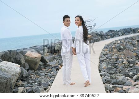 Couple Walking