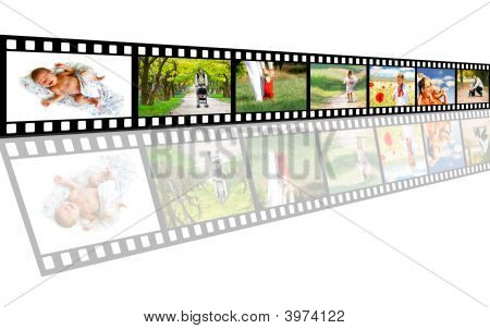 From Baby To Toddler - The Whole Life On A Filmstrip
