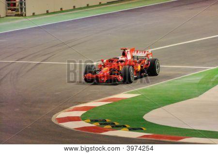 Kimi RäIkköNen'S Ferrari Car In 2008 F1