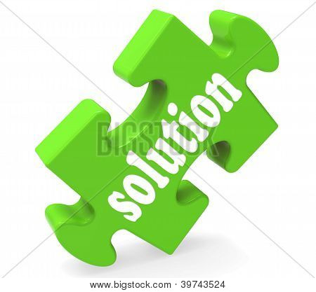 Solution Shows Success Development And Strategies
