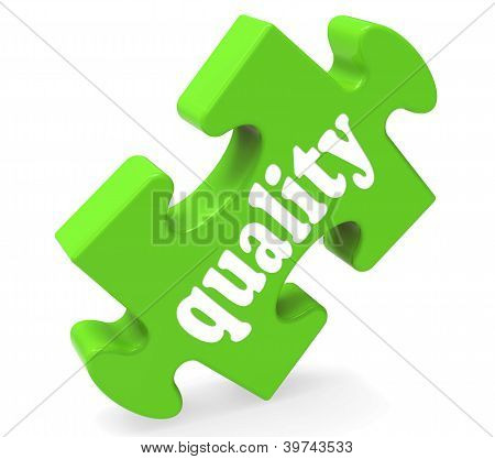 Quality Shows Excellent Service Or Products