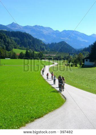 Mountian Bike Through The Hills
