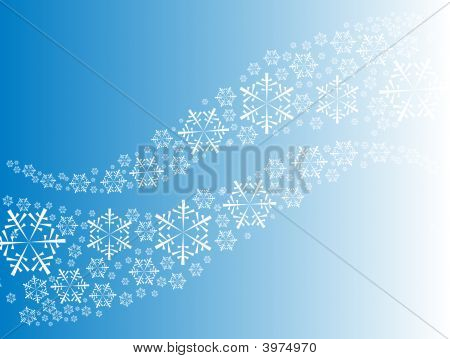 Abstract Curves From Snowflakes