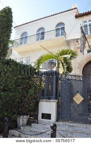 Versace mansion in Miami, Florida