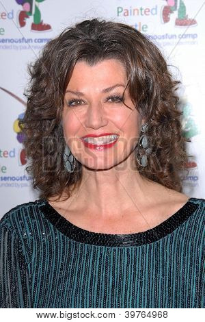 """LOS ANGELES - DEC 4:  Amy Grant arrives at """"A Celebration Of Carole King And Her Music"""" at Dolby Theater on December 4, 2012 in Los Angeles, CA"""
