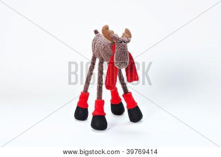Plushy moose