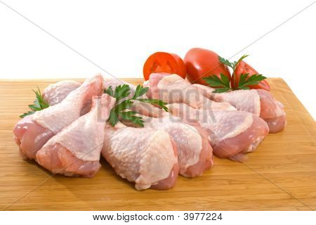 Fresh Raw Chicken Legs