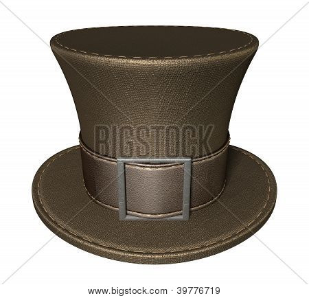 Mad Hatters Top Hat Front