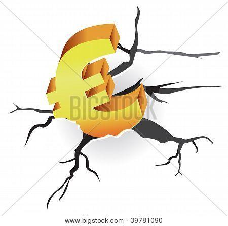 Vector Concept - Euro Crisis
