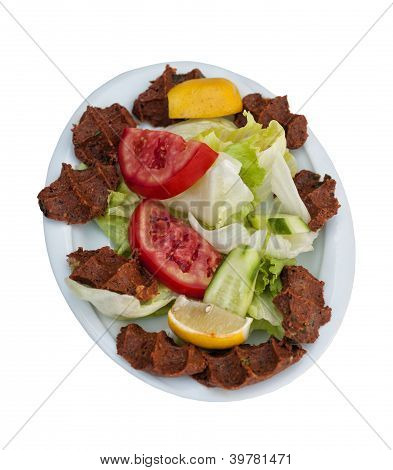 Cigkofte: Traditional Turkish Raw Meat