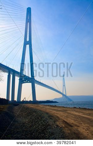 Bridge to Russky island.