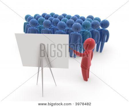 Lehrer und sein Publikum