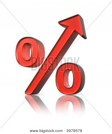 Porcentaje de aumento