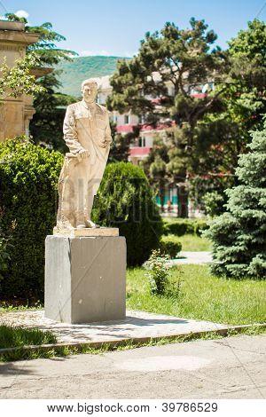 Monument To Joseph Stalin In Park Tbilisi, Georgia