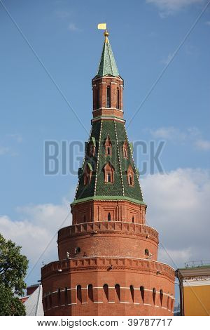 The Arsenal Tower of Moscow Kremlin, Russia