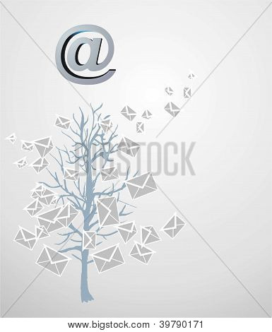 Christmas Tree From Emails