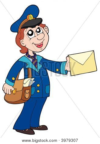 Cute Postman