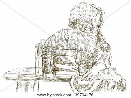 "Santa Claus - ""vintage"" tailor"