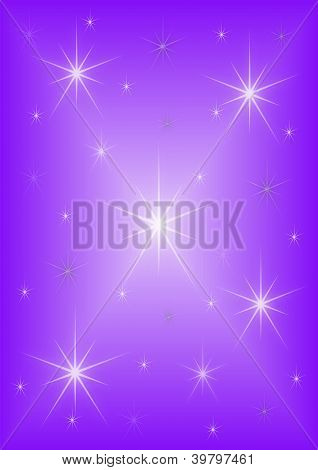 Background purple stars