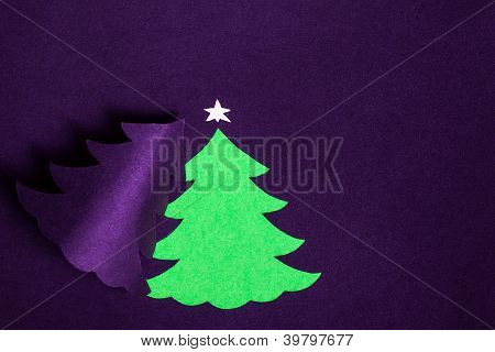Christmas handmade paper card