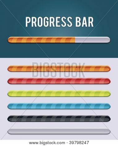 Vector gloving progress bar