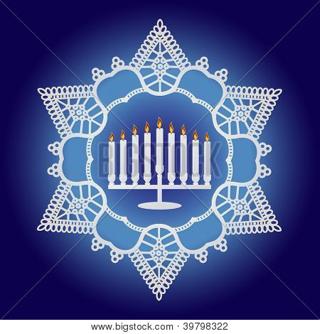 Hanukkah Celebration - Elegant design