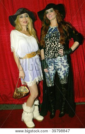 UNIVERSAL CITY - DEC. 4: Phoebe Price & Lorielle New arrive at Mike Arnoldi's birthday celebration & Britticares Toy Drive for Children's Hospital on Dec. 4, 2012 in Universal City, CA.
