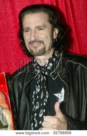 UNIVERSAL CITY - DEC. 4: Bruce Kulick arrives at Mike Arnoldi's birthday celebration & Britticares Toy Drive for Children's Hospital at Infusion Lounge on Dec. 4, 2012 in Universal City, CA.