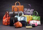 beautiful leather handbags
