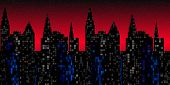 Skyscraper Sunset