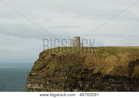 O'brien's Tower At Cliffs Of Moher - Ireland