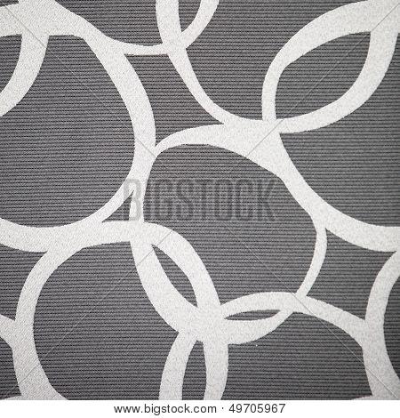Abstract Pattern Of Interlocking Circles