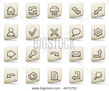 Basic Web Icons, Document Series
