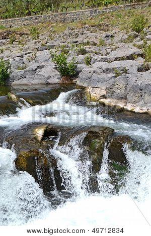 Alcantara Gorges - Sicily