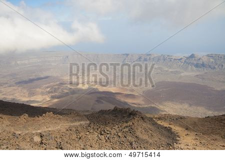Crater of Teide